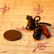 Bronze capybara earrings – $85