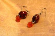 Glass beads $5