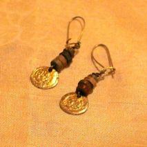 Mummy beads and cheap brass coins $5