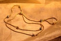 """""""Gold"""" necklace $5"""