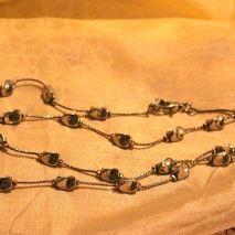 """Silver"" necklace $5"