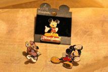 Mickey and Minnie pins $5